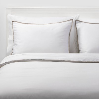 Sig Hotel Border Frame Comforter & Sham Set - Threshold Signature™