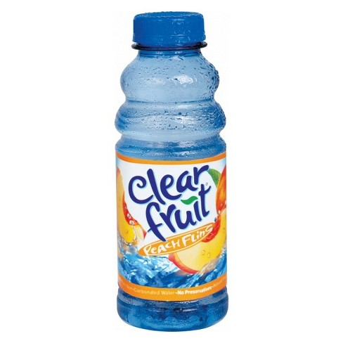Clearfruit Peach Fling Flavored Water - 20 fl oz Bottle - image 1 of 1