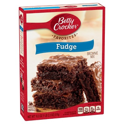 Baking Mixes: Betty Crocker Favorites Brownie Mix