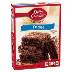 Betty Crocker Fudge Brownie Mix - 18.3oz