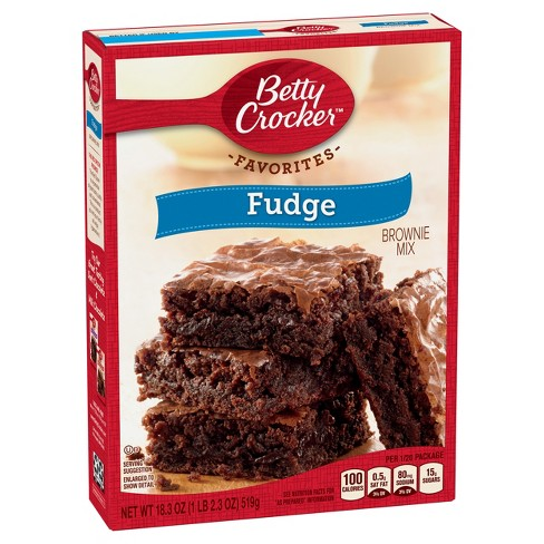 Betty Crocker Fudge Brownie Mix - 18.3oz - image 1 of 4
