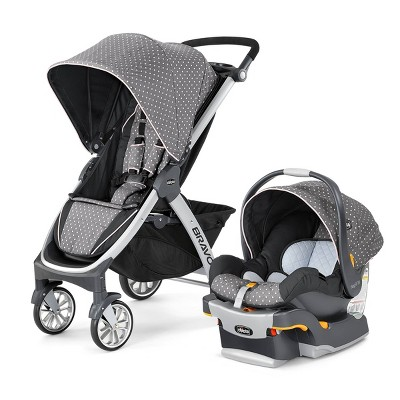 Chicco Bravo Travel System - Lilla