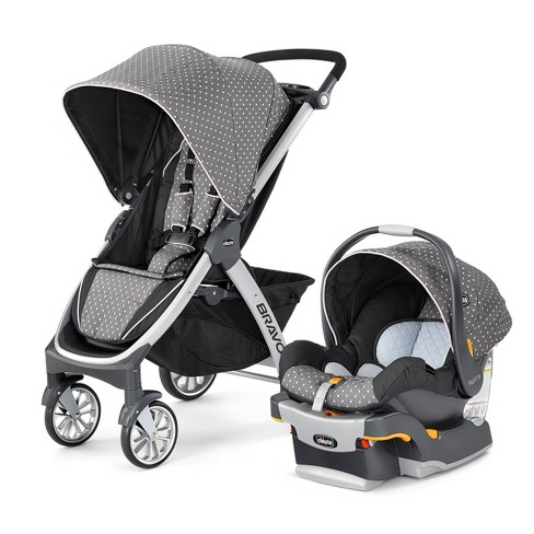 Chicco Bravo 3-in-1 Quick Fold Travel System - image 1 of 4
