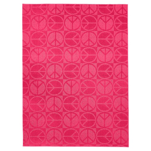 Garland Large Peace Rug - image 1 of 2