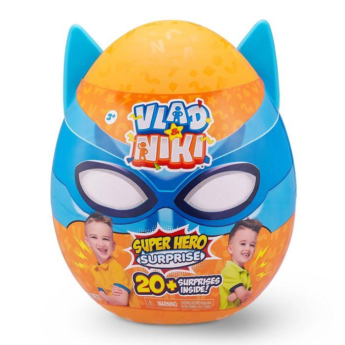 ZURU Vlad and Niki Robot Battle Superhero Surprise Egg