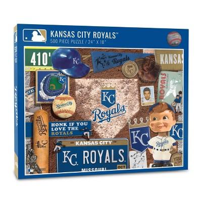 MLB Kansas City Royals 500pcs Throwback Puzzle