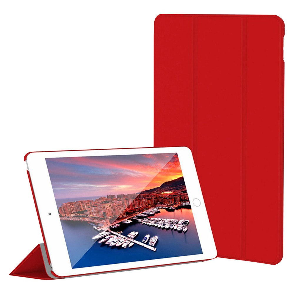 SuprJETech iPad mini 4 Slim-Fit Smart Case Cover with Auto-Sleep & Wake Feature - Red