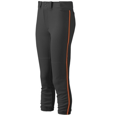 Mizuno Youth Girl's Belted Piped Softball Pant