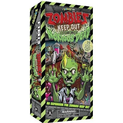 Zombies - Keep Out, Night of the Noxious Dead Expansion Board Game