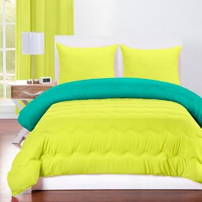 Full/Queen Comforter & Sham Set Blue/Green - Crayola
