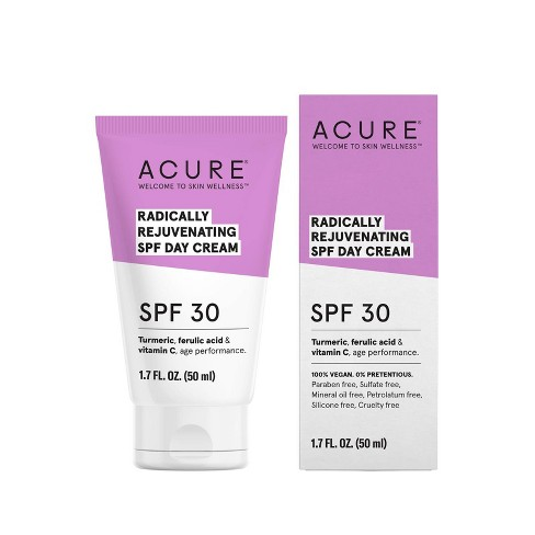 Acure Radically Rejuvenating Day Cream Facial Moisturizers - SPF 30 - 1.7 fl oz - image 1 of 4