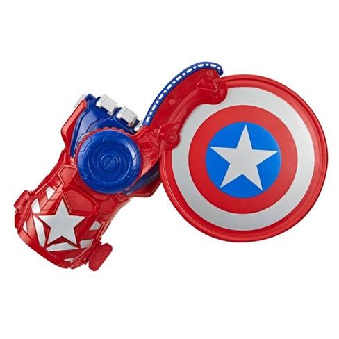 NERF Power Moves Marvel Avengers Captain America Shield Sling - image 1 of 4