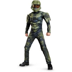 Kids' HALO Master Chief Muscle Halloween Costume