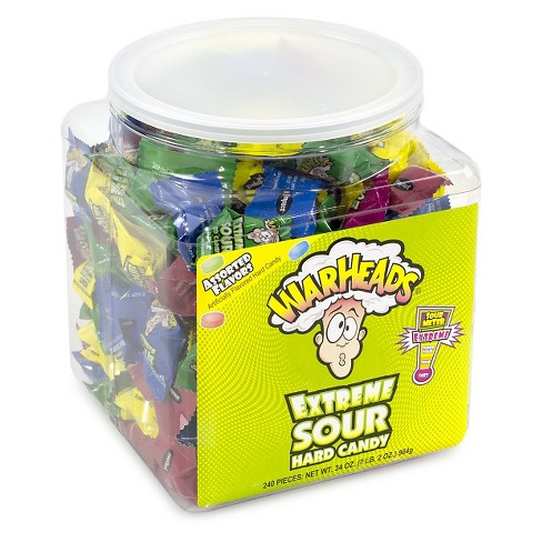 WARHEADS Extreme Sour Assorted Flavors Hard Candies - 240ct - image 1 of 2