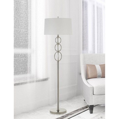 150w 3 Way Bree Metal Floor Lamp Chrome