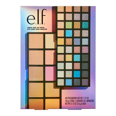 e.l.f. Holiday King Size Eye and Face Palette Giftset - 50pc