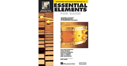 French Essential Elements Ee2000 Percussion (Paperback) - image 1 of 1