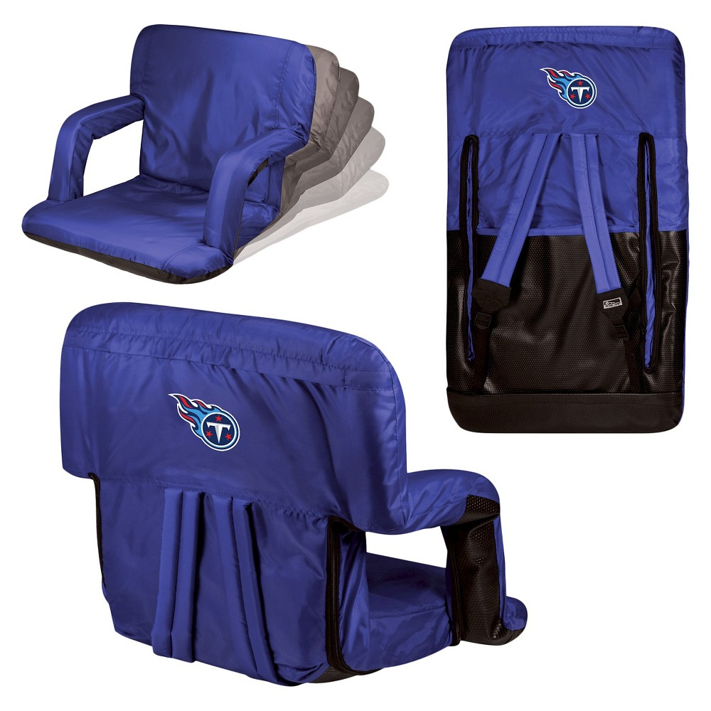 NFL Tennessee Titans Ventura Seat Portable Recliner Chair by Picnic Time