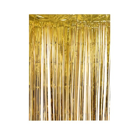 Party Backdrop Gold - Spritz™ - image 1 of 2