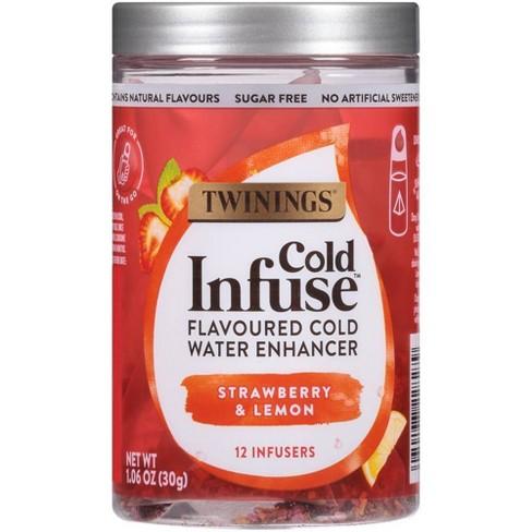 Twinings Cold Infuse Strawberry & Lemon Tea - 12ct - image 1 of 4