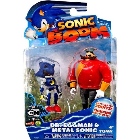 Sonic The Hedgehog Sonic Boom Metal Sonic And Eggman Action Figure 2 Pack Target