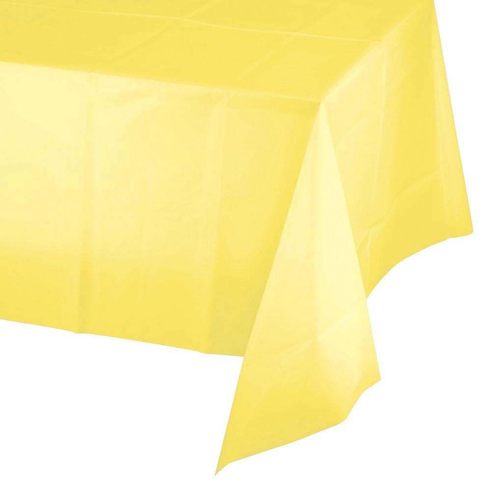 Mimosa Yellow Disposable Tablecloth