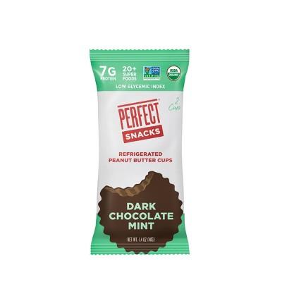 Perfect Snacks Peanut Butter Dark Chocolate Mint Cups - 2pk