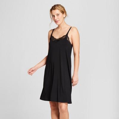 Women's Nursing Nightgown - Gilligan & O'Malley™ S Black