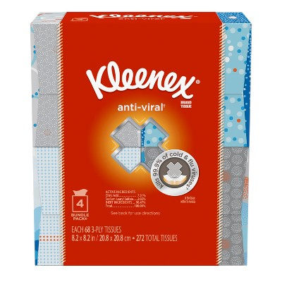 Tissues: Kleenex Anti-Viral