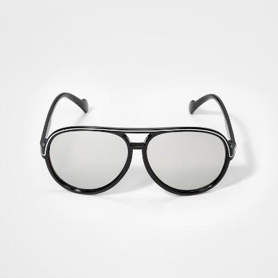 Boys' Aviator Sunglasses - Cat & Jack™ Black