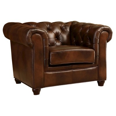 Exceptionnel Keswick Tufted Leather Armchair   Abbyson Living