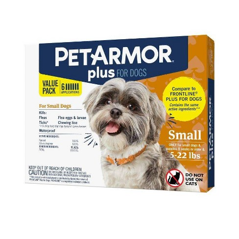 PetArmor Plus Flea and Tick Topical Treatment for Dogs - image 1 of 4