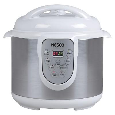 Nesco® 6 Liter 4-in-1 Pressure Cooker