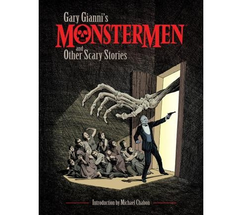 Gary Gianni's Monstermen and Other Scary Stories (Paperback) - image 1 of 1