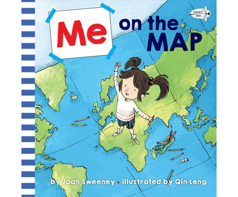Me on the Map -  Reprint by Joan Sweeney (Paperback) - image 1 of 1