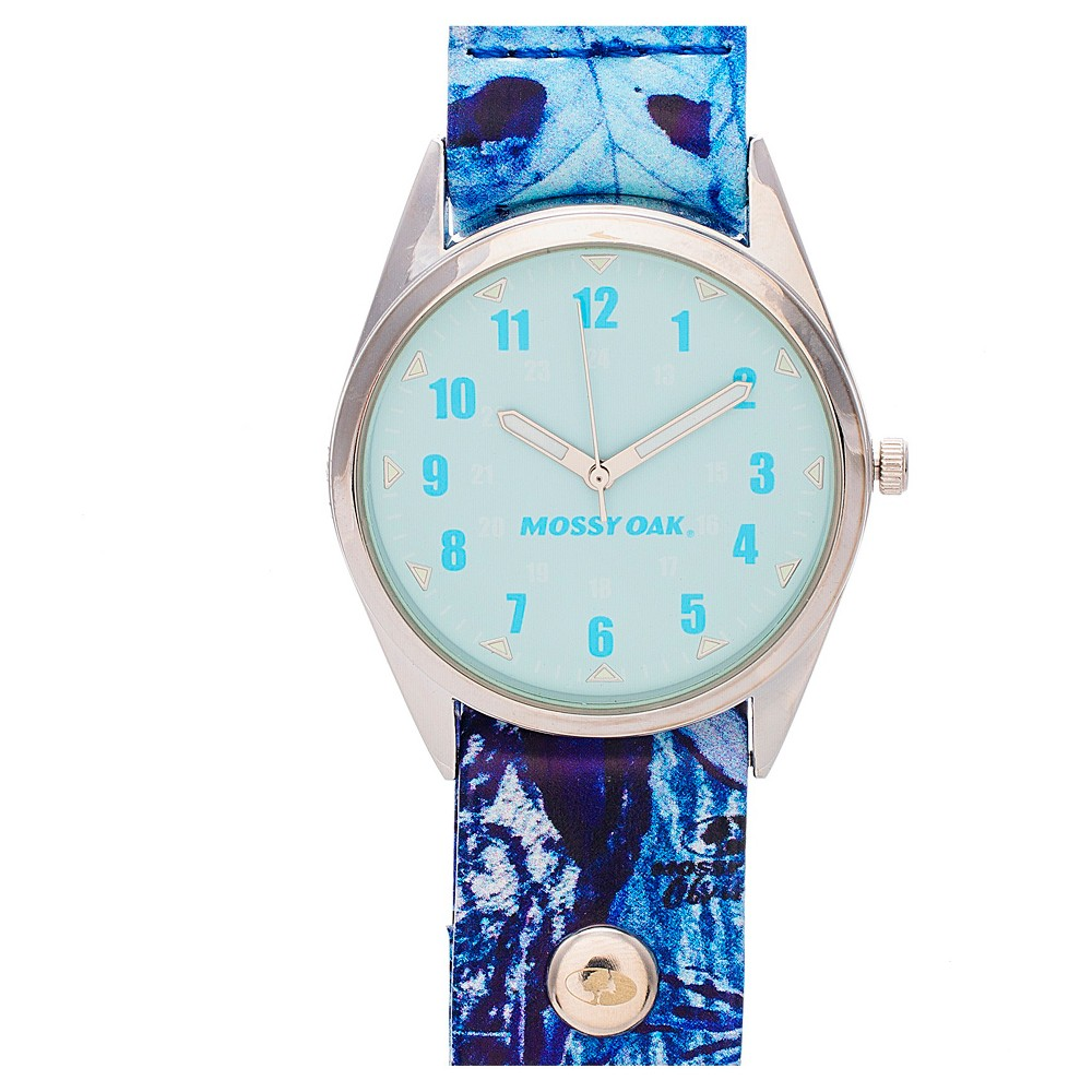 Image of Men's Mossy Oak Analog Watch - Blue, Men's, Size: Small