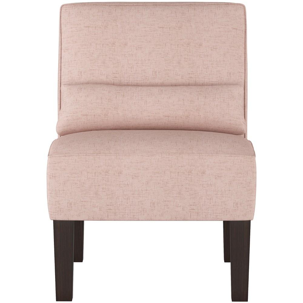 Burke Slipper Chair Pale Pink Velvet - Threshold
