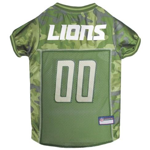 NFL Pets First Camo Pet Football Jersey - Detroit Lions   Target 22c19b5bf