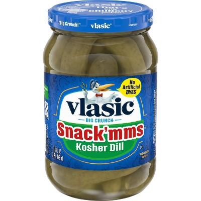 Vlasic Snack'mms Kosher Dill Pickles - 16oz