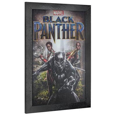 Licensed Black Panther Nakia Okoye Wall Art Black - Crystal Art Gallery