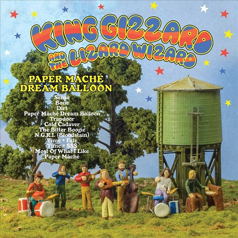 King gizzard - Paper mache dream balloon (CD) - image 1 of 1