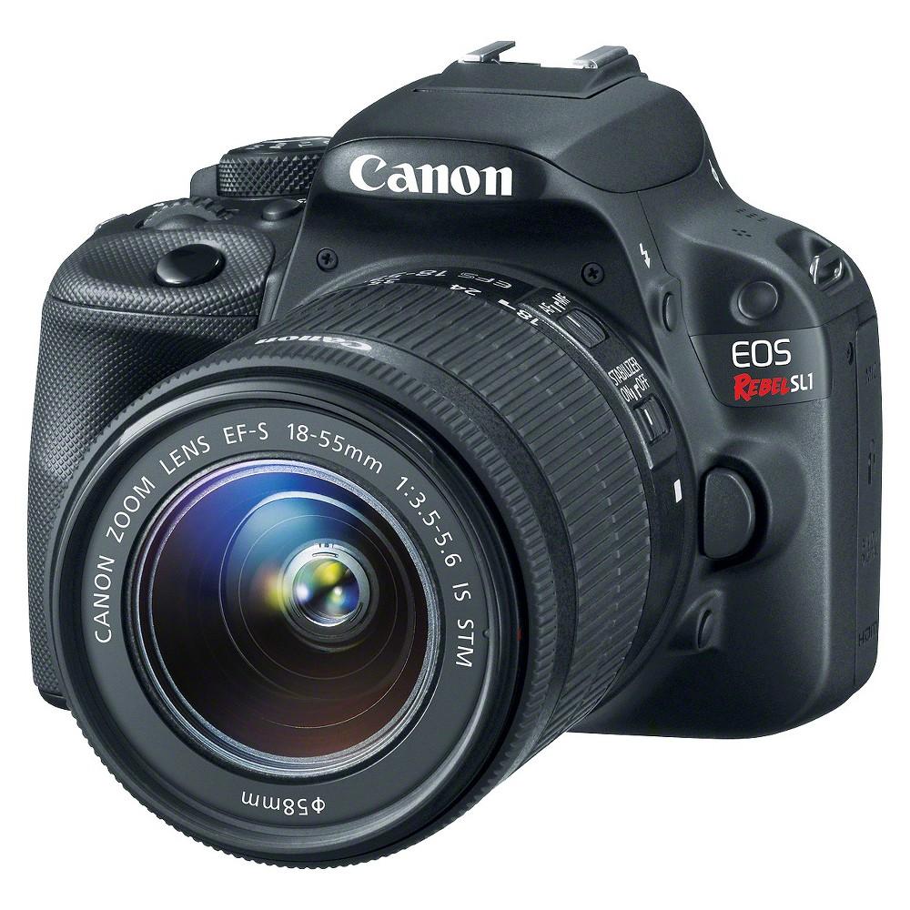Canon Eos Rebel SL1 18-55mm Stm Kit, Black