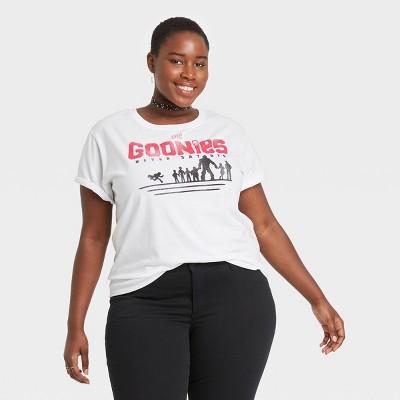 Women's The Goonies Short Sleeve Graphic Boyfriend T-Shirt - White