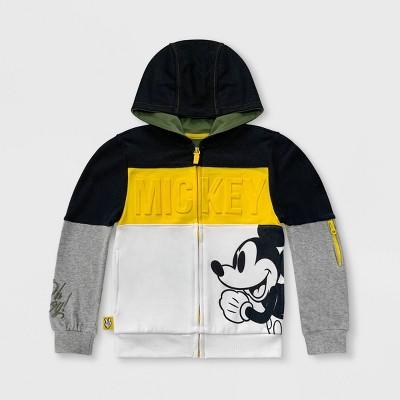 Boys' Disney Mickey Mouse Zip-Up Hooded Sweatshirt - Disney Store