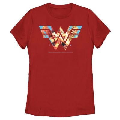 Women's Wonder Woman 1984 Eagle Truth Logo T-Shirt