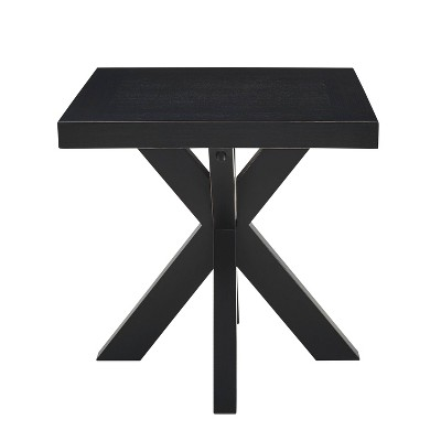 Harris End Table Black - Steve Silver Co.