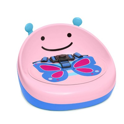 Skip Hop Zoo Booster Seat - Pink Butterfly