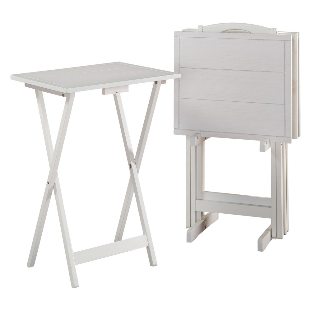 Image of Graham Tray Table White - Powell Company