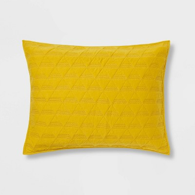 Triangle Stitched Jersey Pillow Sham - Project 62™ + Nate Berkus™