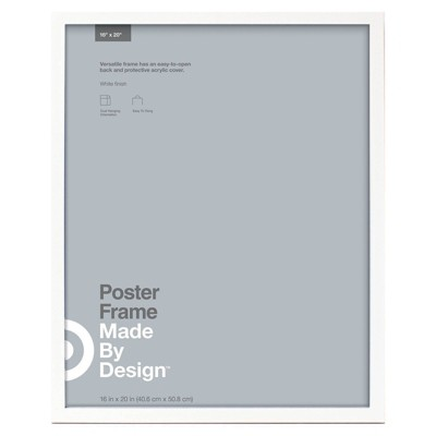16  x 20  Poster Frame White - Made By Design™